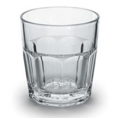 Encore - Elite Rocks Tumbler, 9 oz Clear Plastic