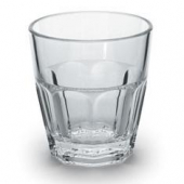 Encore - Elite Double Rocks Tumbler, 12 oz Clear Plastic