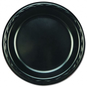 "Genpak - Plate, 7"" Laminated Black"
