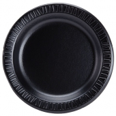 "Dart - Plate, 7"" Black Quiet Classic Laminated Foam"