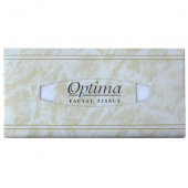 Allied West - Optima Premium Facial Tissue, 2-Ply Flat Box, 8.5x8