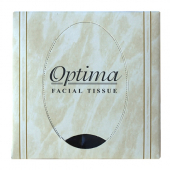 Allied West - Optima Premium Boutique Facial Tissue, 2-Ply Cube, 8.5x8