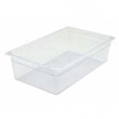 "Winco - Food Pan, Full Size Clear PC Plastic, 5.5"" Deep"