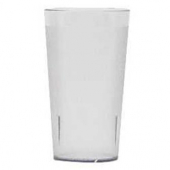 Cambro - Colorware Tumbler, 12.6 oz Clear Pebbled Plastic