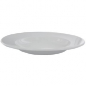 "World Tableware - Porcelana Rolled Edge Pasta Bowl, 12"" Bright White Porcelain, 20 oz"