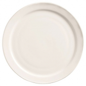 "World Tableware - Porcelana Narrow Rim Plate, 6.5"" Bright White Porcelain"