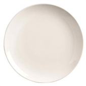 "World Tableware - Porcelana Coupe Round Plate, 12.25"" Bright White Porcelain"