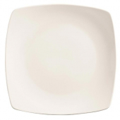 "World Tableware - Porcelana Coupe Square Plate, 8.75"" Bright White Porcelain"