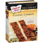 Duncan Hines - Decadent Carrot Cake