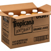 Tropicana - 100% Pure Orange Juice, No Pulp, 64 oz