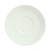 "Syracuse China - Flint Barista Saucer, 5.25"" Small American White"