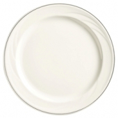 "Syracuse China - Elan Dinner Plate, 6.25"" White"