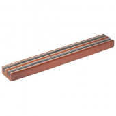"Winco - Knife Bar, 12"" Magnetic with Wooden Base"