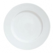 "Syracuse China - Reflections Dinner Plate, 12.25"" Aluma White"