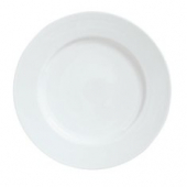 "Syracuse China - Reflections Dinner Plate, 6.625"" Aluma White"