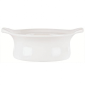 Syracuse China - Chef's Selection Casserole Dish with Side Handles, 9 oz Aluma White