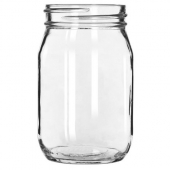 Libbey - Drinking Jar, 16 oz