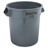 Rubbermaid - Garbage/Trash Can, Gray 10 Gallon