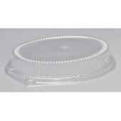 "Genpak - Lid, Clear Plastic Dome Lid, Fits LAM11 and 81100, 2"" Lid Height"
