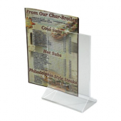Winco - Menu Stand, 4x6 Acrylic Double Sided