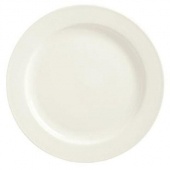 "Syracuse China - Flint Frama Plate, 7.25"" American White"