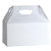 Gable Box, White, 8.75x5x6.75