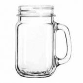 Libbey - County Fair Drinking Jar, 16 oz
