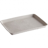 Chinet Tray, 9x12 Beige Tug Serving Tray