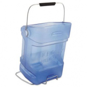 Rubbermaid - Ice Tote, 5.5 Gallon Blue Plastic with Handle