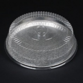 Aluminum Cater Tray - Plastic Dome Lid, 12""