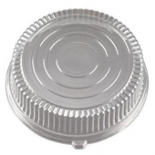 "Catering Tray Dome Lid, 16"" Round Clear Plastic"