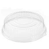"Ebony Catering Tray Clear Plastic 4"" Dome Lid, Fits 16"" Tray"