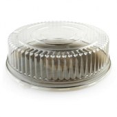 "Fineline Settings - Platter Pleasers Cater Tray Dome Lid, 16"" Round Clear Plastic"