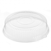 "Ebony Catering Tray Clear Plastic 4"" Dome Lid, Fits 18"" Tray"