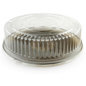 "Fineline Settings - Platter Pleasers Cater Tray Dome Lid, 18"" Clear Plastic"