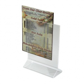 Winco - Menu Stand, 5x7 Acrylic Double Sided