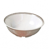Soup Bowl, 32 oz 'Arcadia' Ivory with Sparkle Melamine