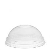 Amhil - Lid, 32 oz Clear PET Plastic Dome Lid