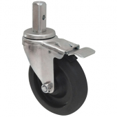 Winco - Caster with Brake for ALRK and AWRK Series Shelves, Standard Weight