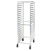 "Winco - Sheet Pan Rack, 20 Tier with 3"" Spacing, Aluminum with Casters"