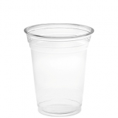 Amhil - Cup, 16 oz Clear PET Plastic