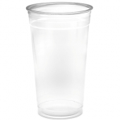 Amhil - Cup, 32 oz Clear PET Plastic