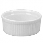 Vertex China - Argyle Souffle Bowl, 60 oz Porcelain Bright White