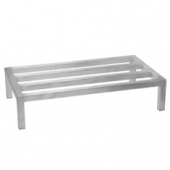 Winco - Dunnage Rack, 20x36x8 Aluminum, Holds up to 1800 Lbs