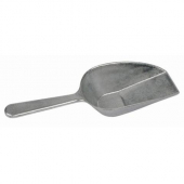 Winco - Scoop with Flat Bottom, 7 oz Aluminum