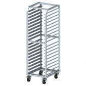 "Winco - Bun Rack, 20 Tier with 3"" Spacing, Heavy Duty Aluminum with Brakes"