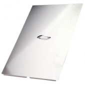 Pitco - Fryer Cover, 23x15 Stainless Steel