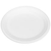 Karat Earth - Plate, 10x12 Oval Compostable Bagasse