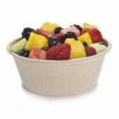 Sabert - Bowl, 16 oz Round Molded Fiber Pulp