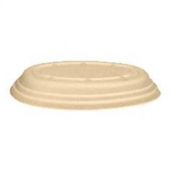Bridge-Gate - Bowl Lid, 24 oz Oval Molded Fiber